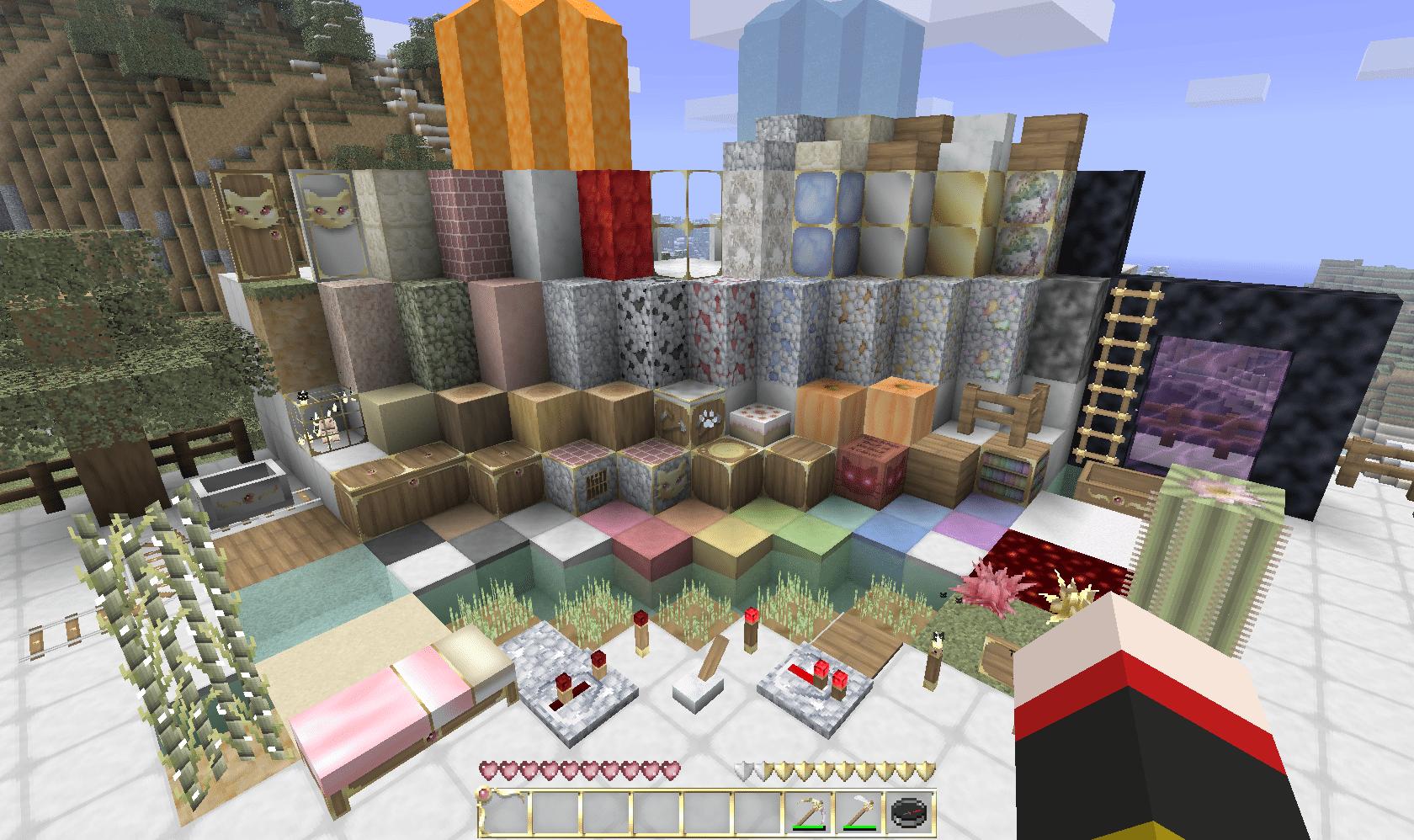 Texture 32x32 Loafcraft v2.4 1.7.3 - Minecraft-France