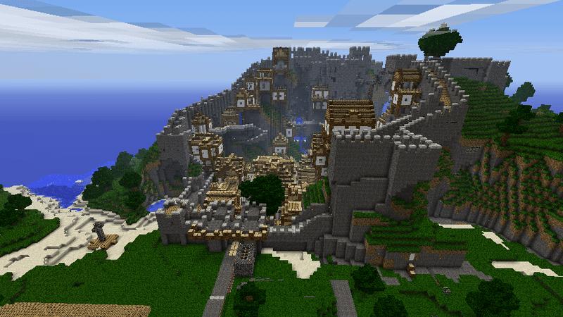 Красивый дом карта для minecraft 1.7.10