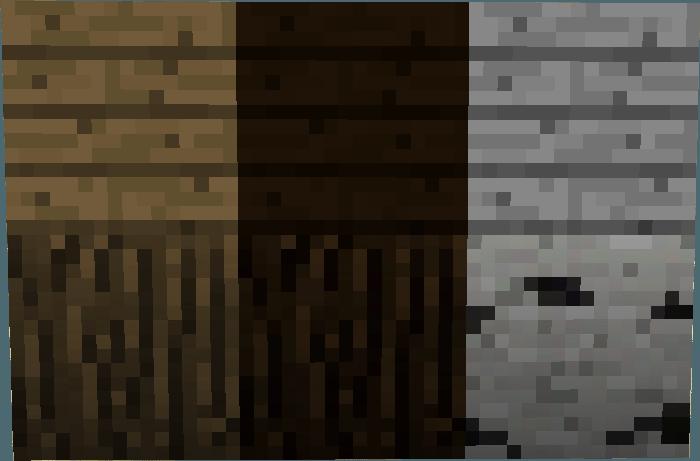 Dalle de bois minecraft mzaol