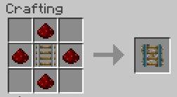 comment construire un wagon dans minecraft