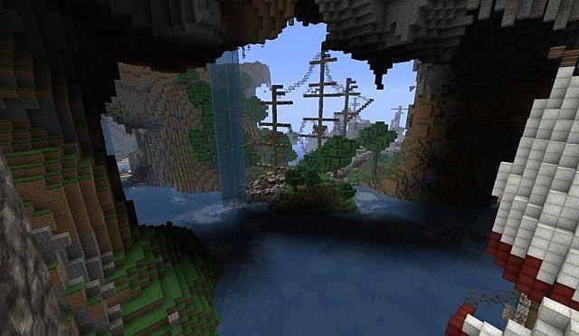 Lost in bermuda triangle 17 Minecraft France