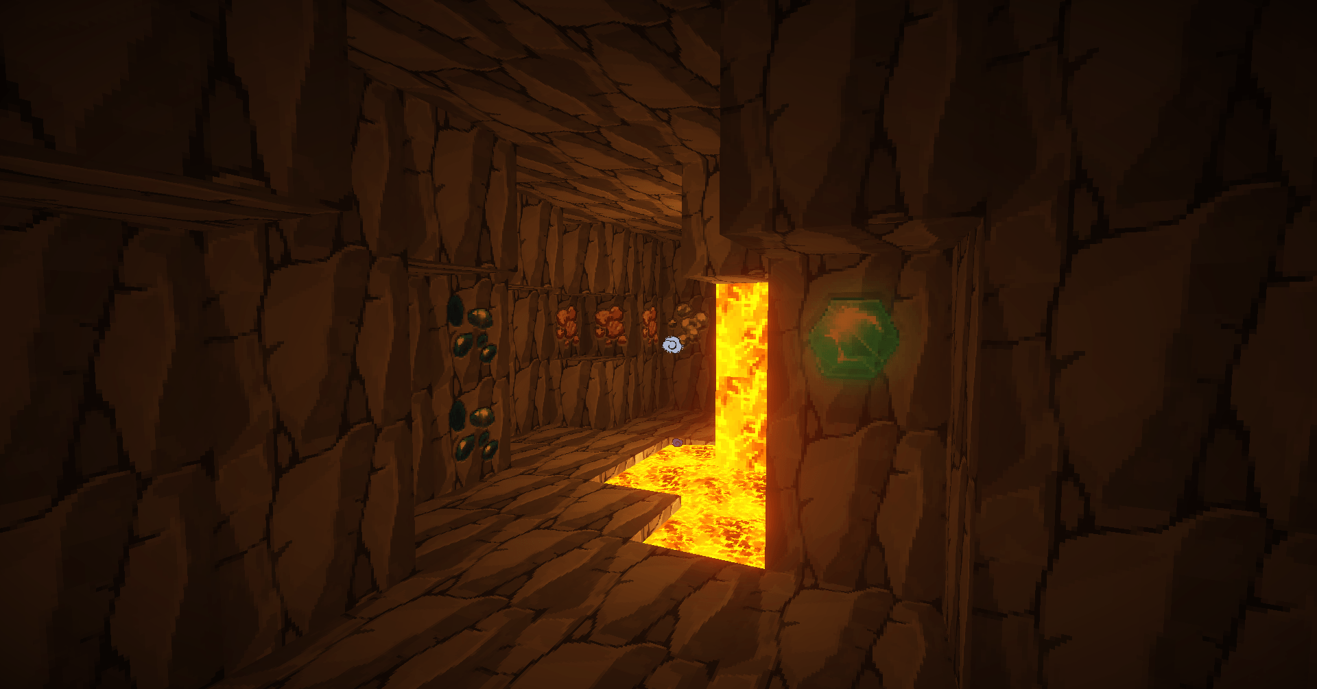 Une petite expédition dans les grottes
