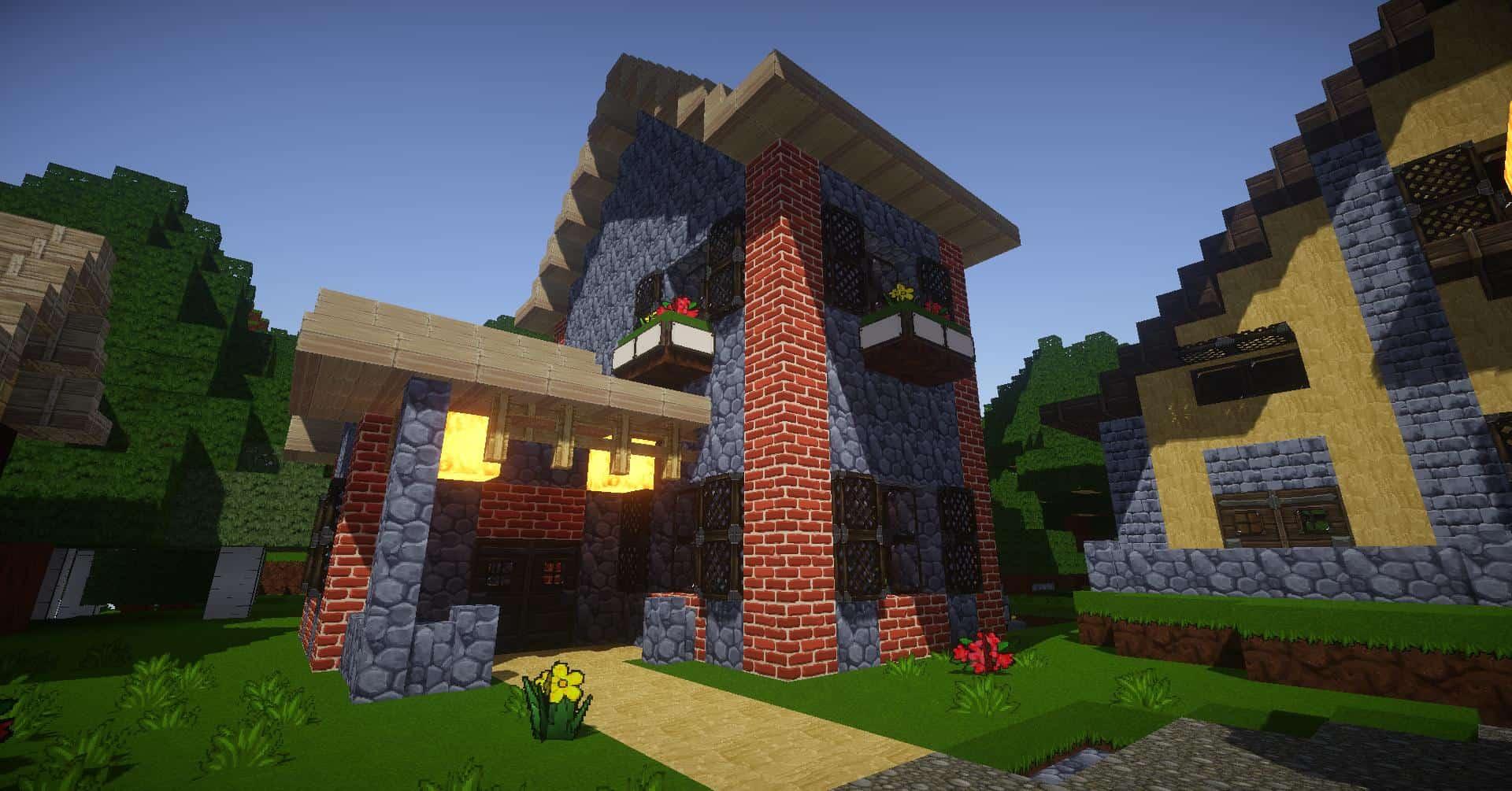 Une bien jolie maison n'est-ce pas ?