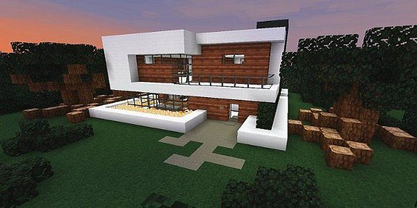 Texture 16x16 pamplemousse 1 3 2 minecraft france for Minecraft maison moderne plan