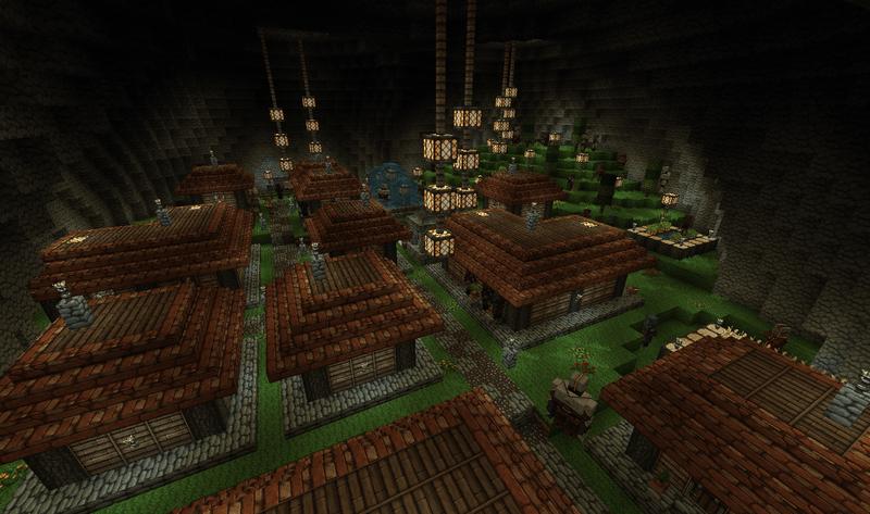 Un des villages cachés... mais où peut-il bien être ?