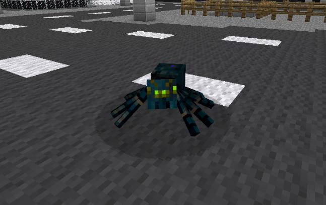 L'araignée radioactive !