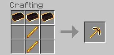Fiery Pickaxe