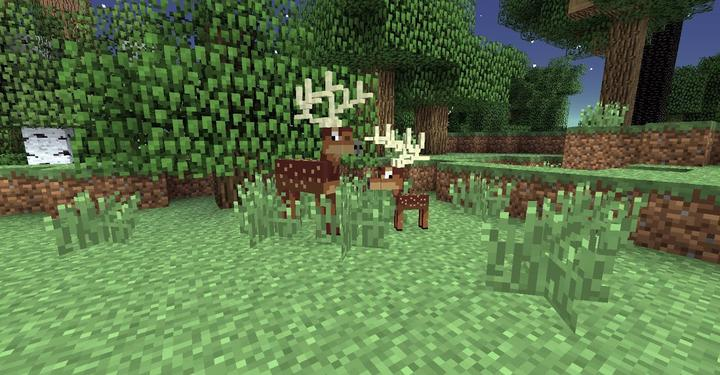 Twilight Forest Deer