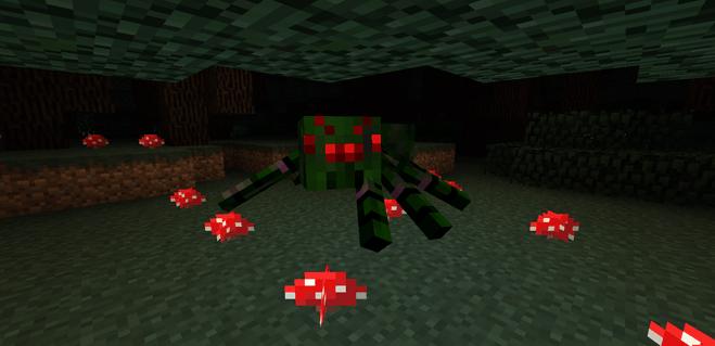 Twilight Forest King Spider