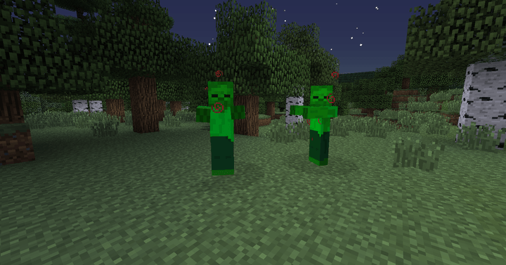 Twilight Forest Summoned Zombies