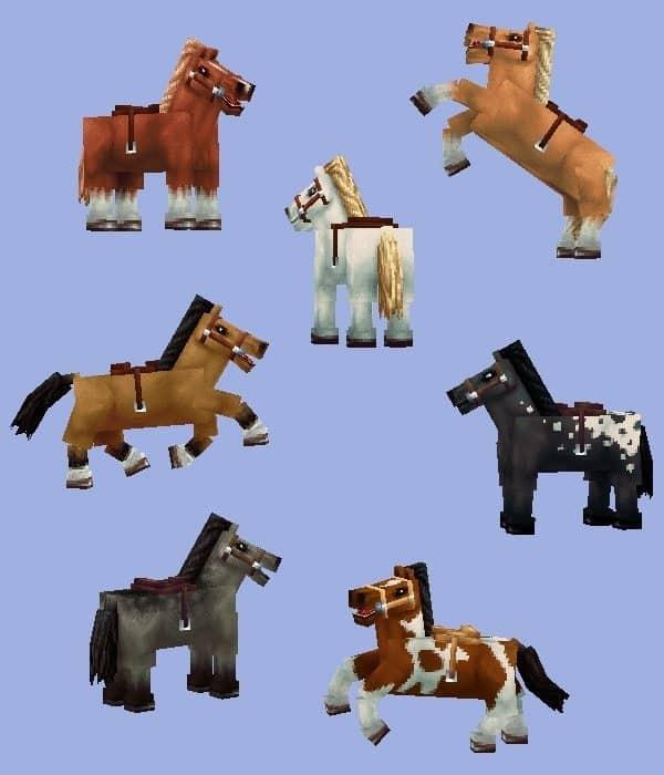Wayukian Pack - Horses1