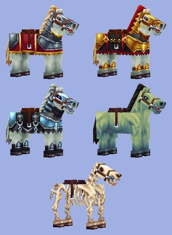 Wayukian Pack - Horses2