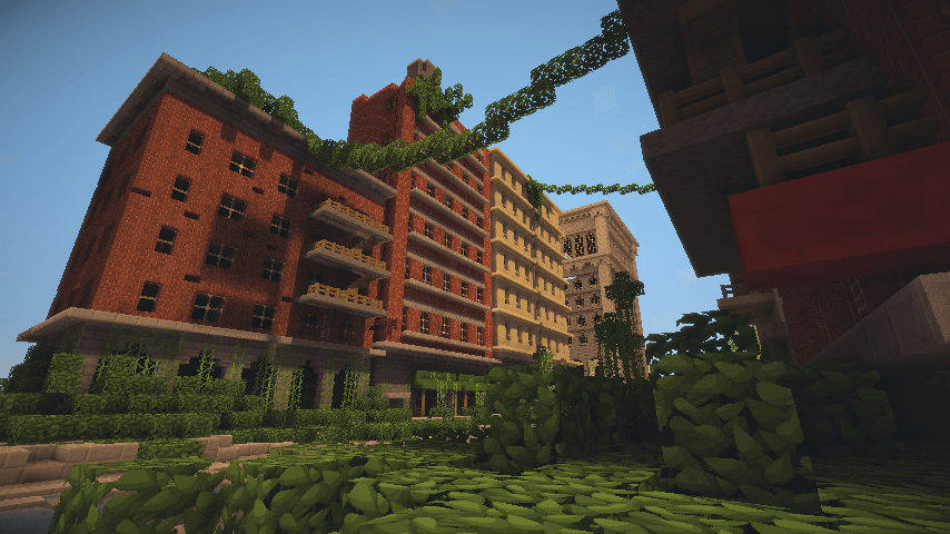 Map The Last Of Us MinecraftFrance - The last of us minecraft map