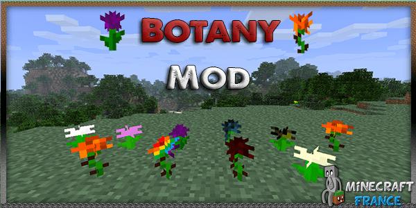 Mod Botany Mod 152 Minecraft France