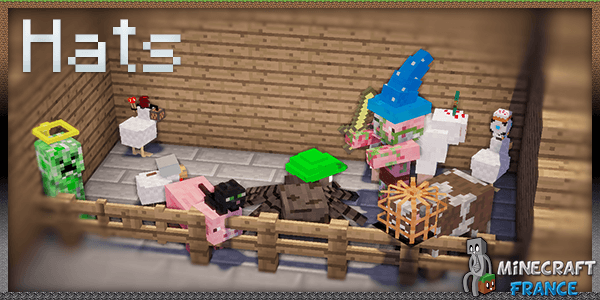 Photo of [Mod] Hats Mod [1.7.10]
