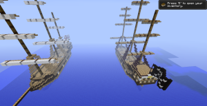 Les deux bateaux
