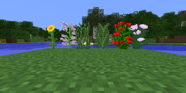 bloc fleuri