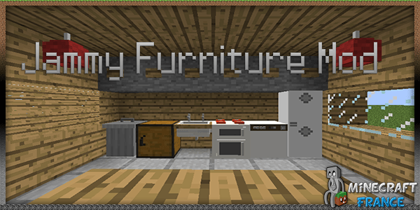 Mod Jammy Furniture Mod 1 6 2 Minecraft France