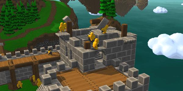 Construisons un château !