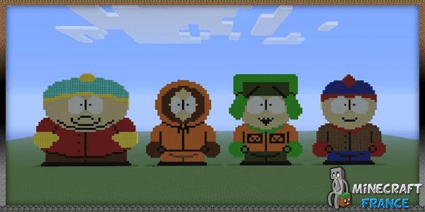 Minecraft dans south park
