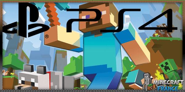 Minecraft sur ps4
