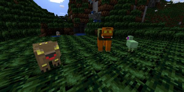 Minetroid - Les animaux pacifiques