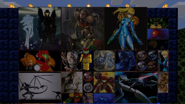 Les tableaux créés par les artistes de DeviantArt fans de Metroid