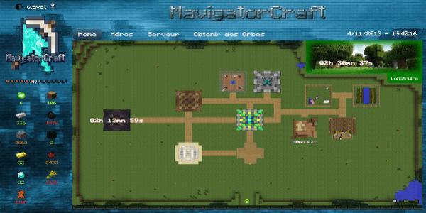 NavigatorCraft - Vue d'ensemble de votre campement