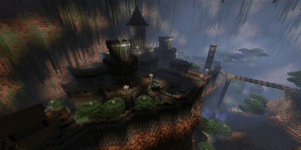 RageCraft #2 : Insomnia : Un imposant château
