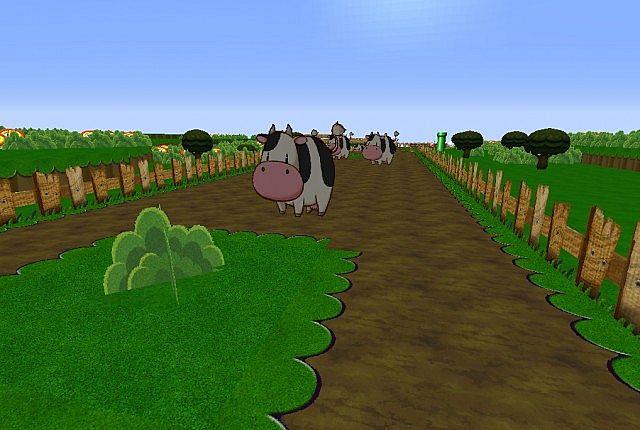 Les vaches ont bien changé depuis la 1.8... Oh wait.