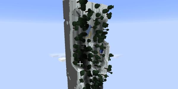 Une petite vue d'ensemble de la première partie de la map...