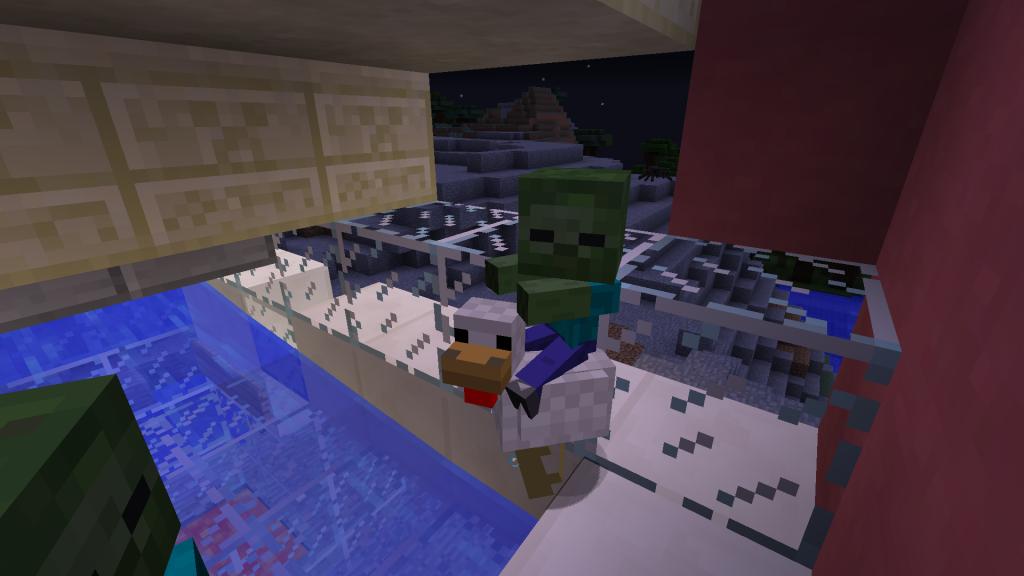Et voici la nouveauté indispensable sans quoi Minecraft n'aurait aucun sens!