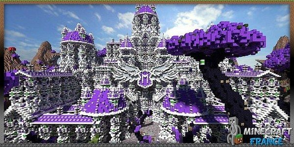 Map orolion 39 s temple 1 7 4 minecraft france for Jardin 0 la francaise