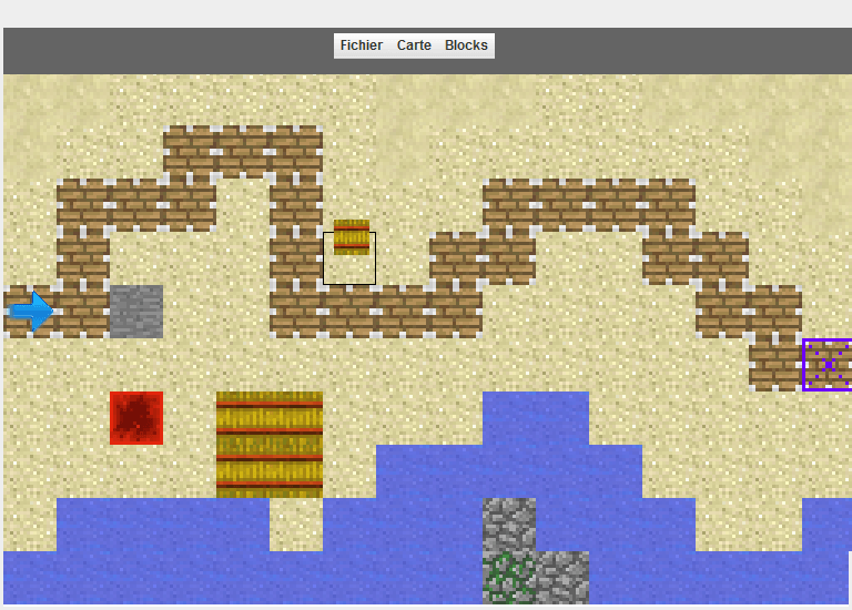 Et c'est parti pour la création de maps!
