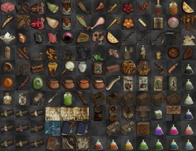 Items - Broken Anachronism