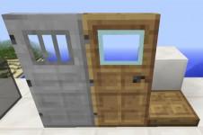 Un relooking de la porte en bois et en fer.