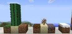 Relooking du cactus avec un vert plus réaliste.
