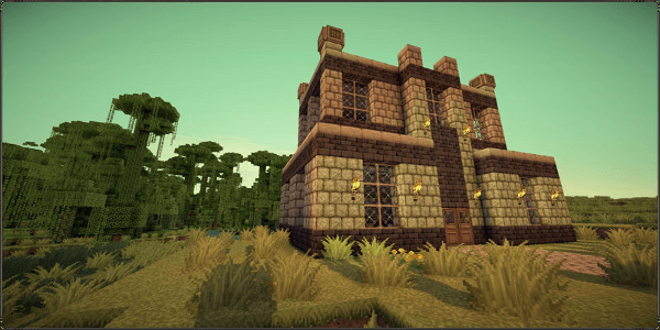 JohnSmith Legacy - Une maison, deux biomes, des shaders. La perfection.