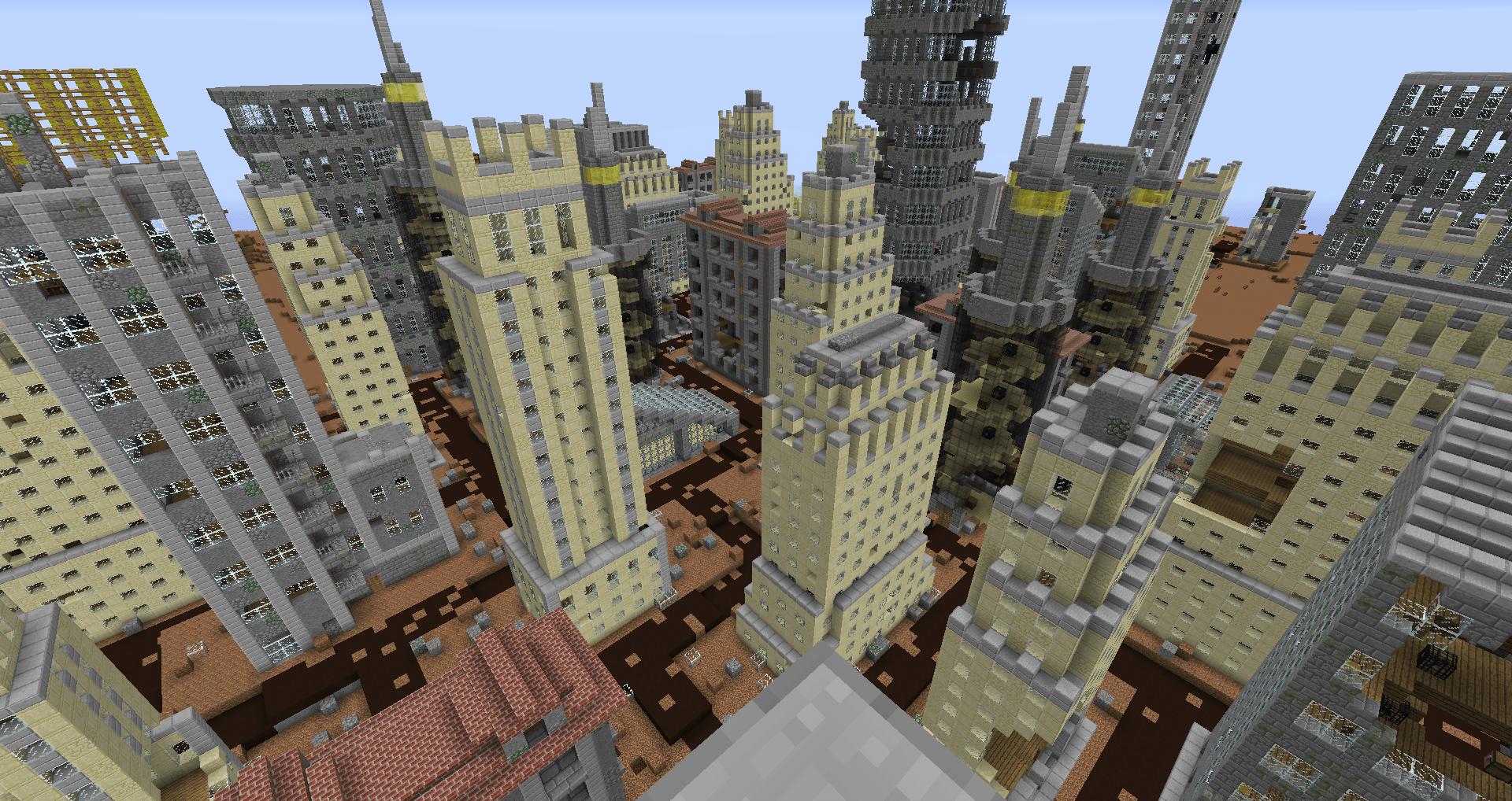 Скачать карту город для майнкрафт 1.7.10