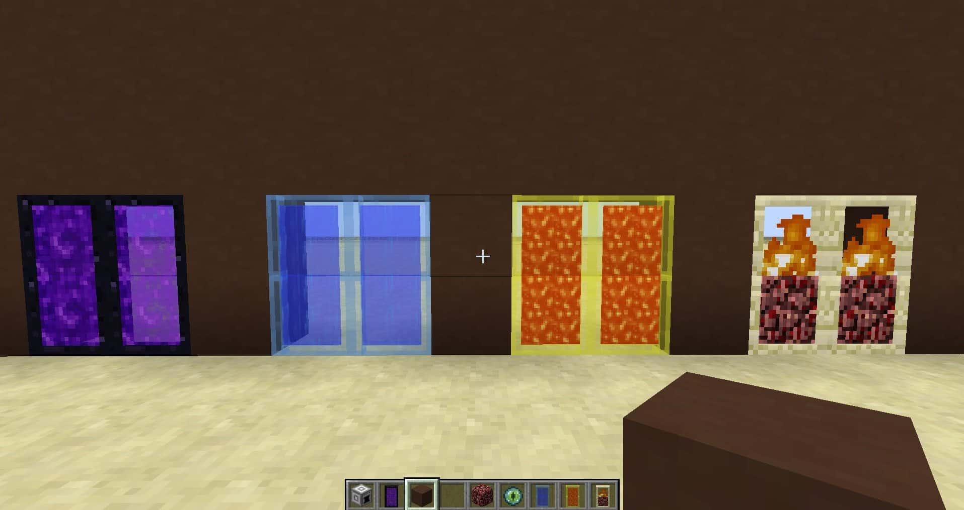 Portes personnalisées avec effet spéciaux.