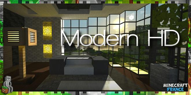 Resource Pack Modern Hd 1 10 Minecraft France