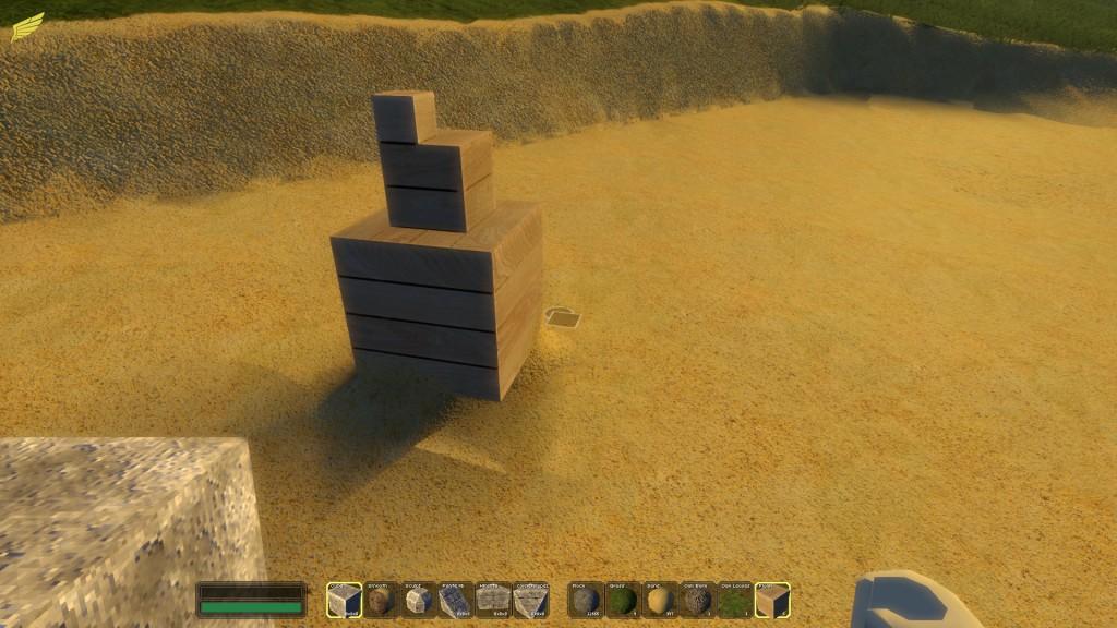 Petit exemple des différentes tailles de blocs.