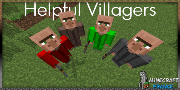 Photo of [Mod] Helpful Villagers [1.7.10]