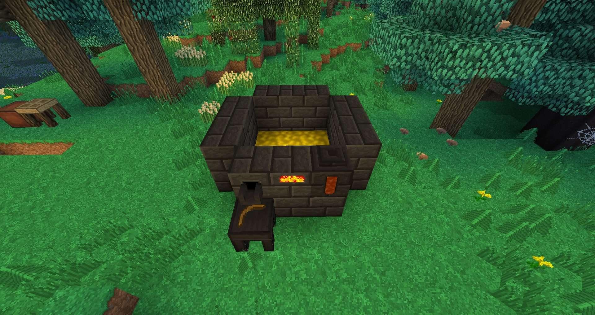 Как сделать печку из tinkers construct
