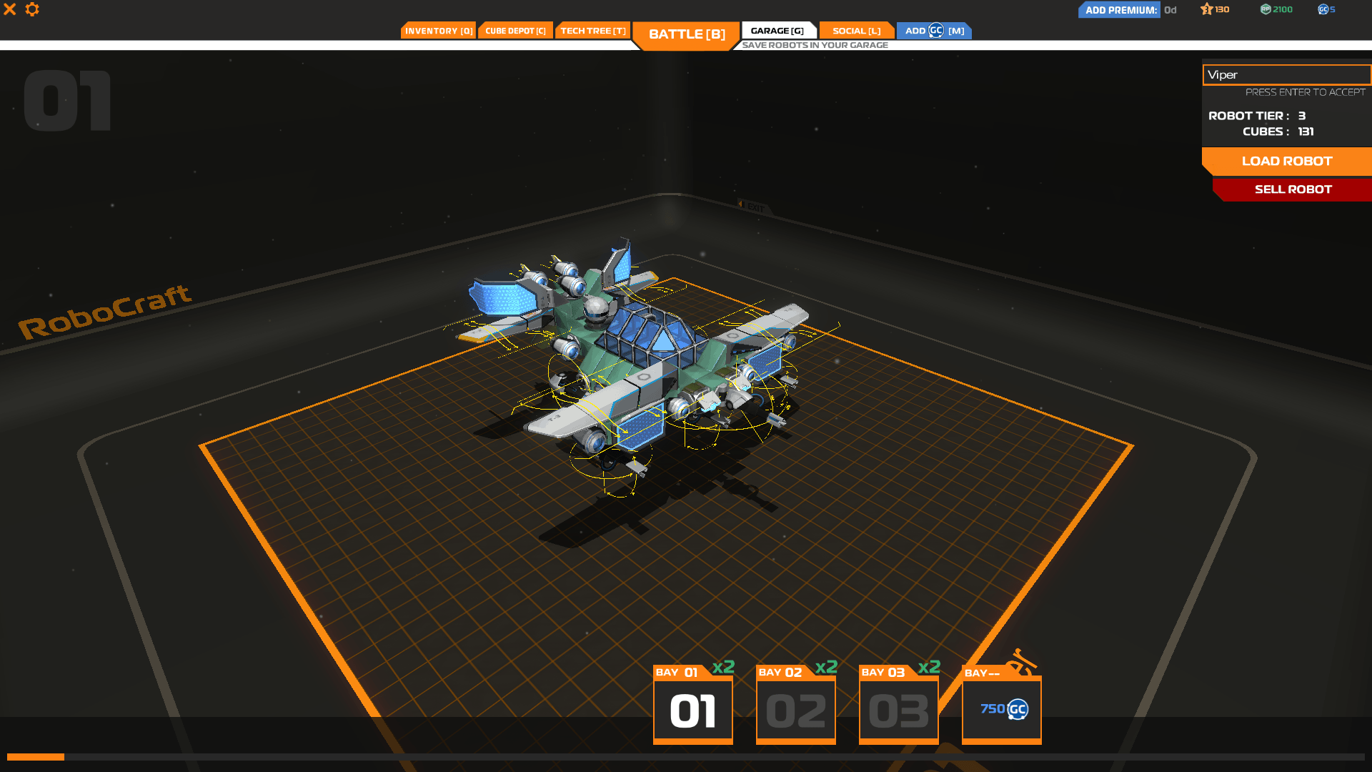 comment avoir des tech point 2 robocraft