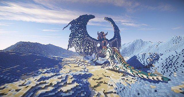 Map Dragon Survival 1 7 10 Minecraft France