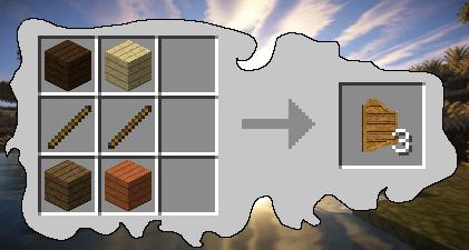 Craft porte saloon