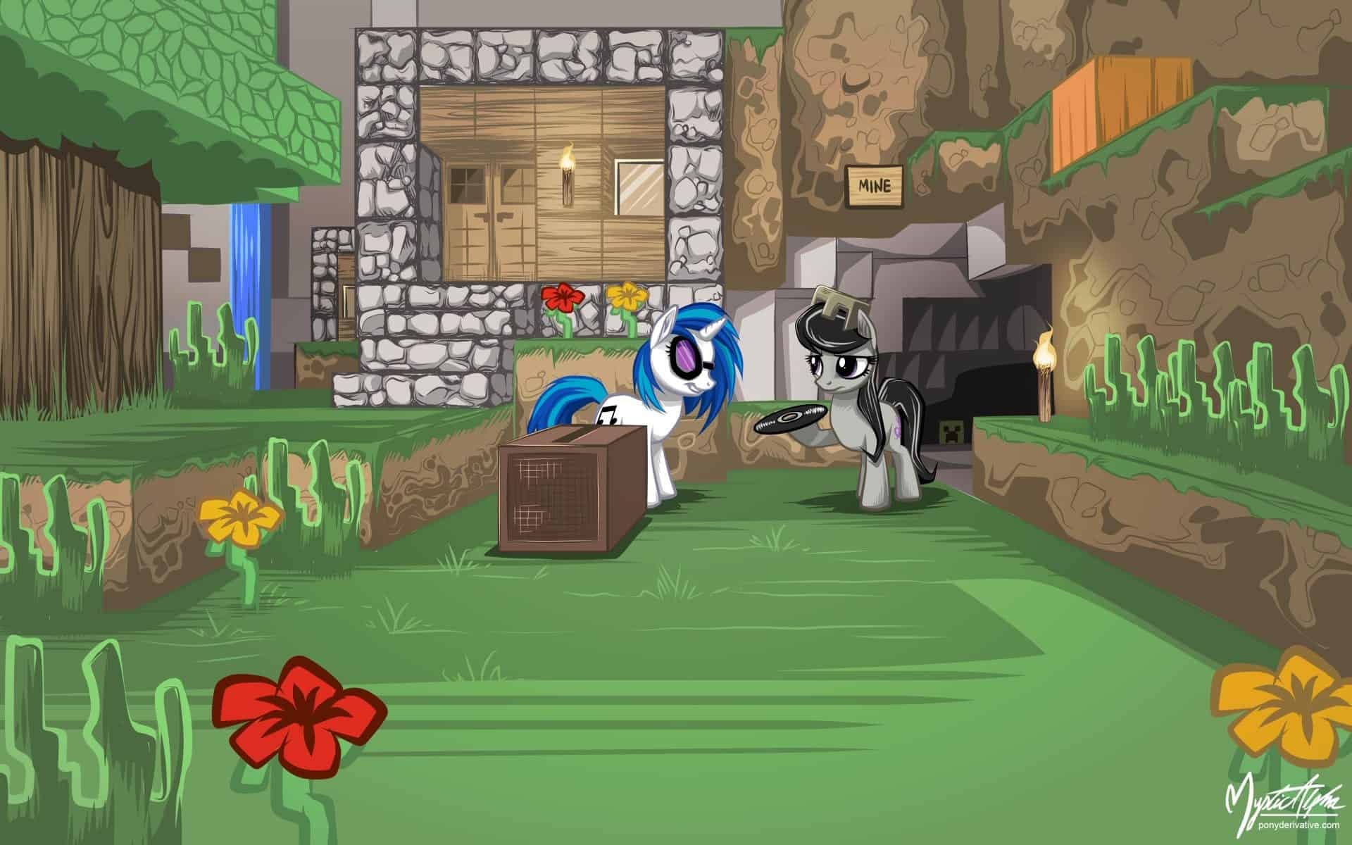 dj_pon_3_and_octavia_in_minecraft_by_mysticalpha-d5d9tgc