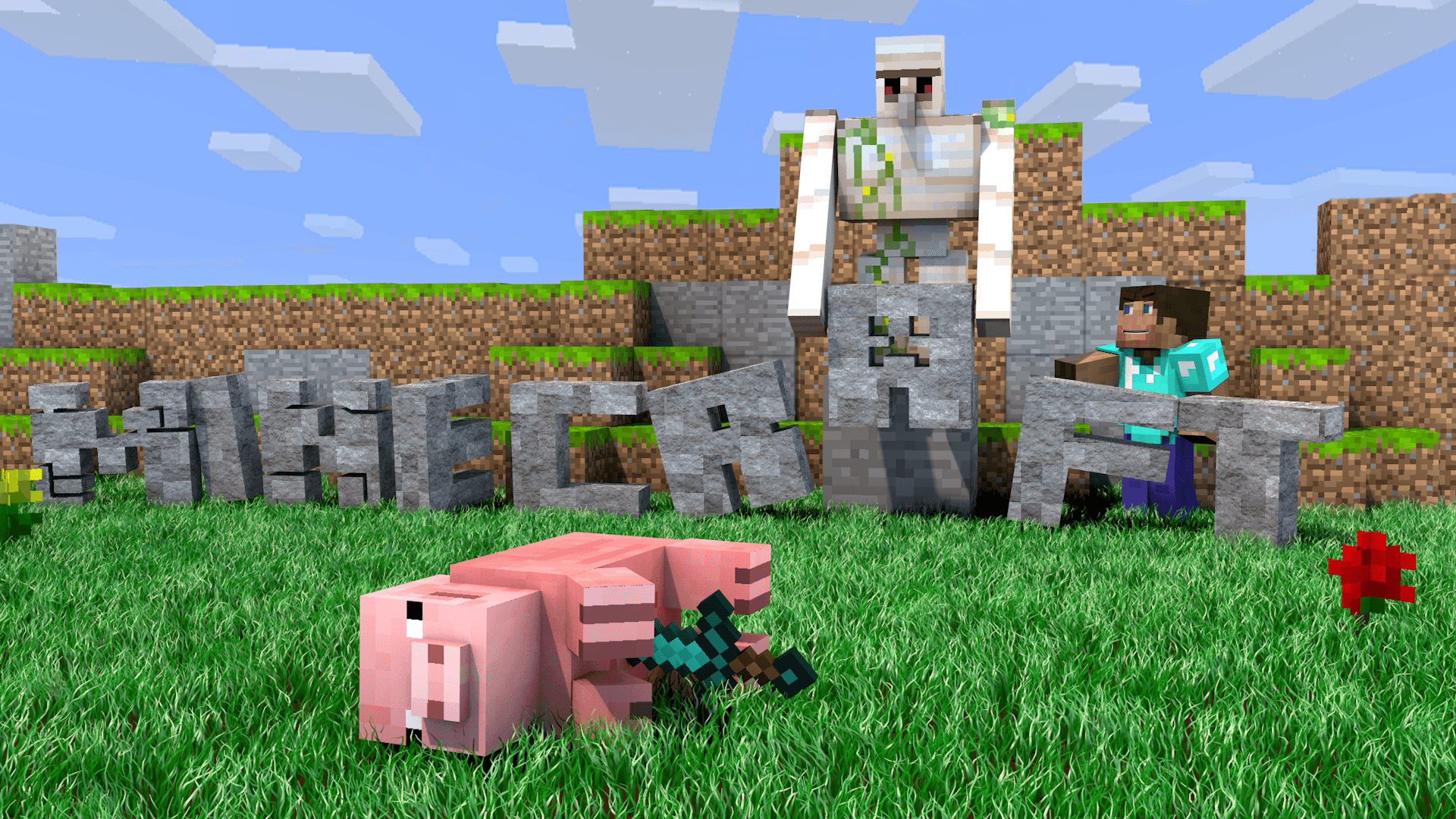 minecraft_wallpaper___murdered_pig__1920x1080__by_deztizzy-d6h6c5m