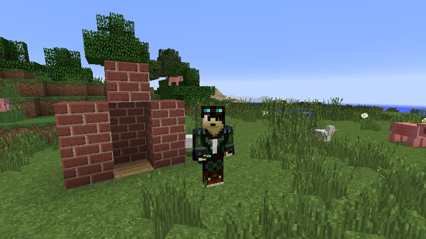 Mod Floocraft : Cheminée basique dans Minecraft